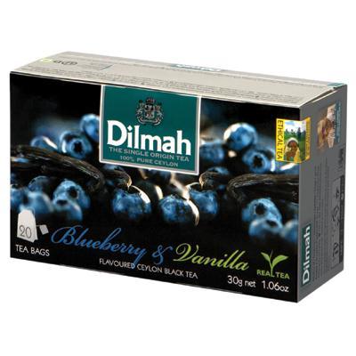 Herbata Dilmah jagody z wanilią ekspresowa 20 szt-6340