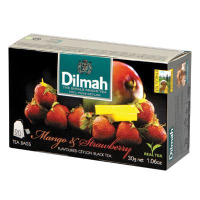 Herbata Dilmah mango z truskaw. ekspresowa 20 szt.-6848