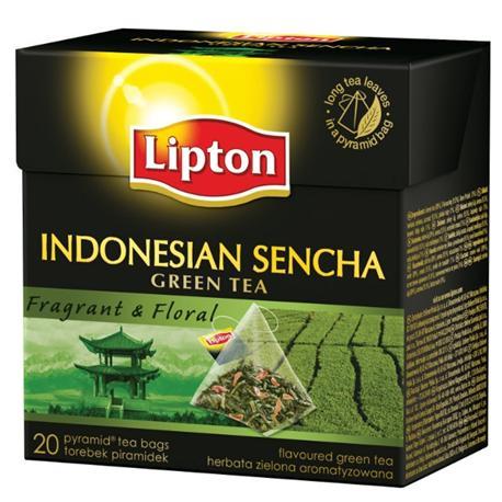 Herbata Lipton piramidka Green Tea IndonesiaSencha-12832