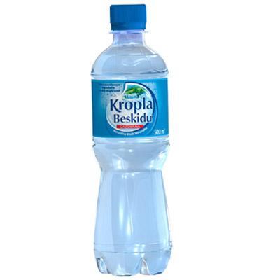 Woda Kropla Beskidu gazowana 0,5l (12szt.)-6811