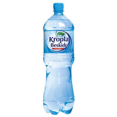 Woda Kropla Beskidu gazowana 1,5l (6szt.)-6814