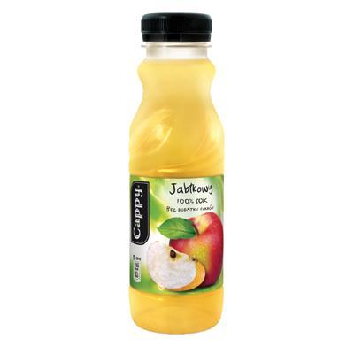 Napój Cappy jabłkowy 0,33l butelka PET-6807