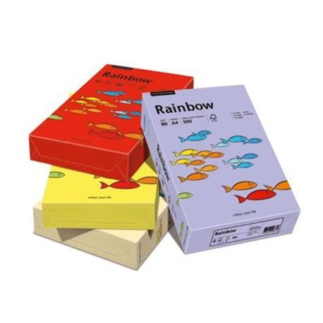 Papier A4 Rainbow mix pastelowy 80g (100 ark)-7361