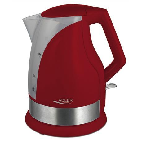 Czajnik Adler AD1215R elektryczny 1,7L czerwony-13858
