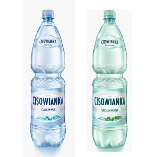 Woda Cisowianka gazowana 1,5l (6 szt.) -3158