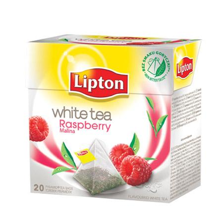 Herbata Lipton piramidka White Tea malina 20 tor-12845