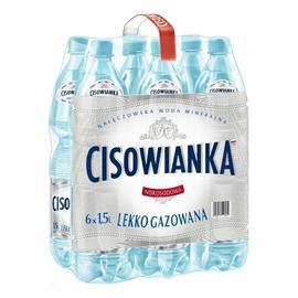 Woda Cisowianka lekko gazowana 1,5l (6 szt.)