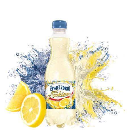 Woda Żywiec gazowana z sokiem z cytr.0,5l (6 szt.)-12756