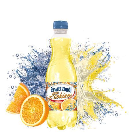 Woda Żywiec gazowana z sokiem z pomar.0,5l (6 szt)-12757