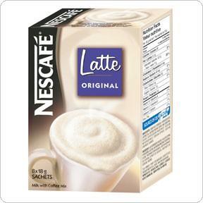 Kawa Nescafe Latte saszetki 18g (8 szt.) -3215