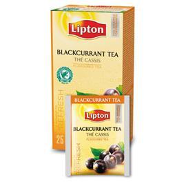 Herbata Lipton Blackcurrant Tea 25 kopertek