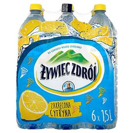 Woda Żywiec niegazowana cytryna 1,5l (6 szt.)
