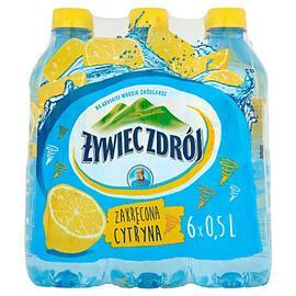 Woda Żywiec niegazowana cytryna 0,5l (6 szt.)
