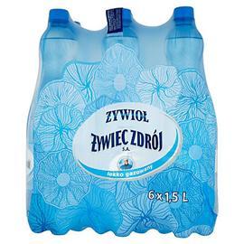Woda Żywiec średnio gazowana 1,5l (6 szt.)