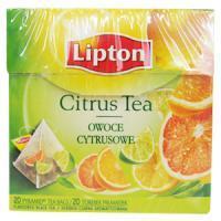 Herbata Lipton piramidka Citrus 20 toreb