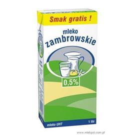 Mleko Zambrowskie UHT 1l 0,5%