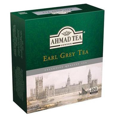 Herbata Ahmad Tea Earl Grey ekspr.sznurek 100 szt.-6893