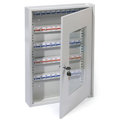 Szafka na klucze 50 miejsc ze szklanymi drzwiczkam-2424