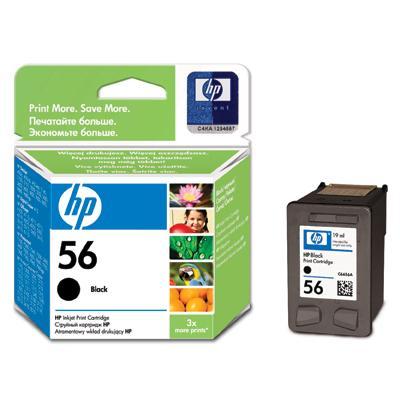 Tusz HP C6656AE czarny nr 56-6