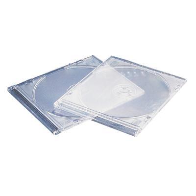Pudełko Esselte na CD 5x142x125 przezr.(5)67225-248