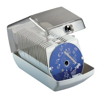 Pudełko Esselte na 40 CD jasno-szare-237