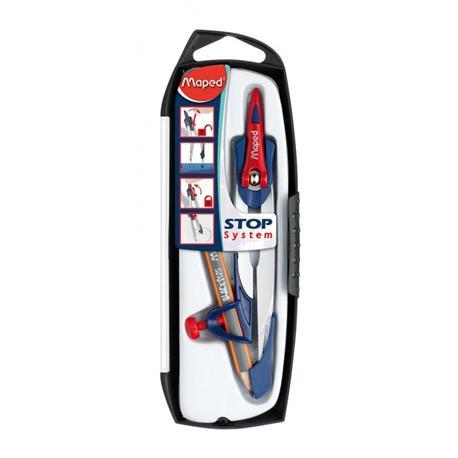 Cyrkiel Maped Stop System z ołówkiem-14655