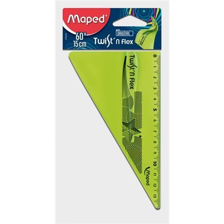 Ekierka Maped Flex niełamliwa 15cm-14668