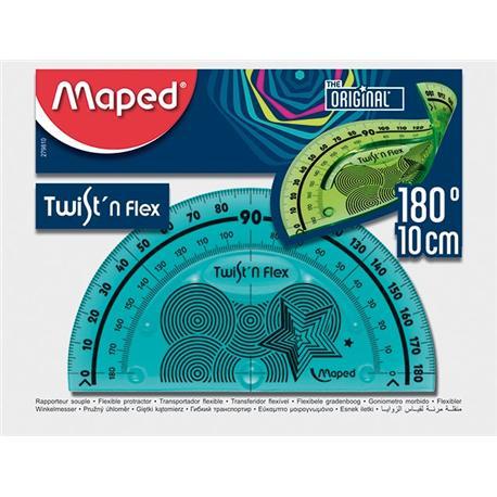 Kątomierz Maped Flex niełamliwy 10cm-14667