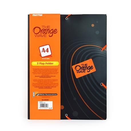 Teczka ofertowa Mintra A4 Orange 3 Flap Folder-15712