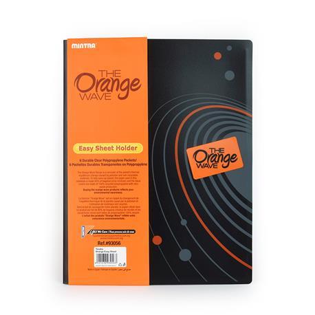 Teczka ofertowa Mintra A4 Orange Easy Sheet Holder-15713