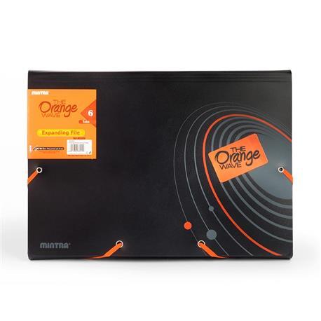 Teczha ofertowa Mintra A4 Orange Expanding File-15714