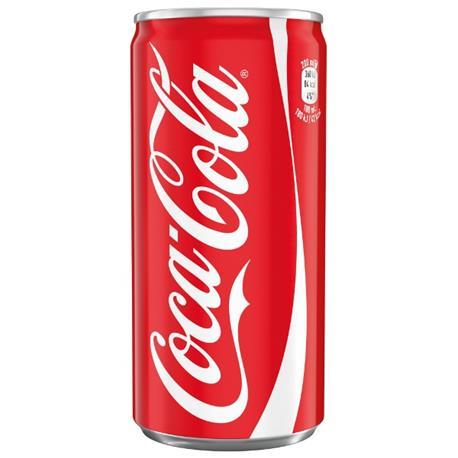Coca-Cola puszka 200ml x 24 szt-15810