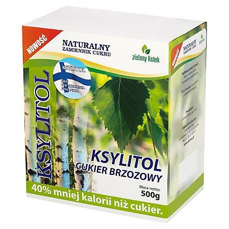 Ksylitol Zielony Listek 0,5 kg-15812