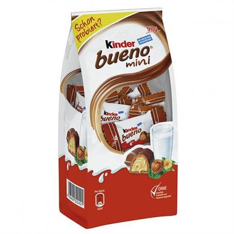 Cukierki Kinder Bueno mini w mlecz.czek.108g-16009