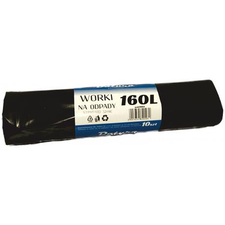 Worki 160l czarne LDPE Standard Datura (10)-16142