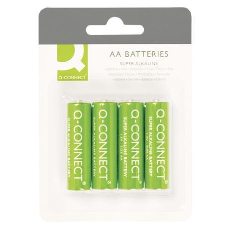 Baterie alkaliczne Q-Connect LR06 1,5V 4szt -11740