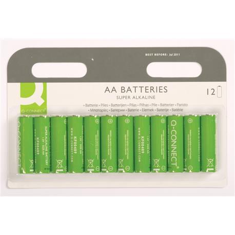 Baterie alkaliczne Q-Connect LR06 1,5V 12szt -16249