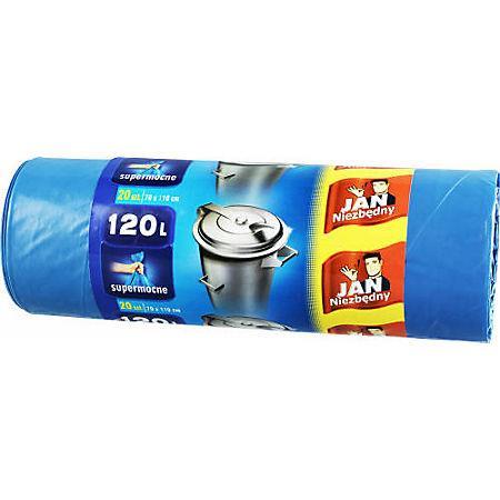 Worki 120l supermocne niebieskie Jan N.(25)-15882