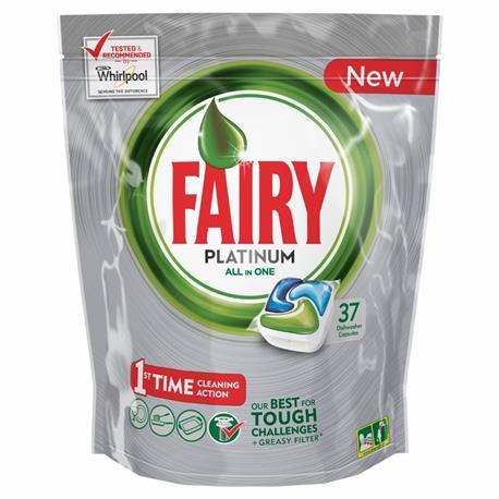 Fairy All in One kapsułki Paltinum Regular 37 szt-16423