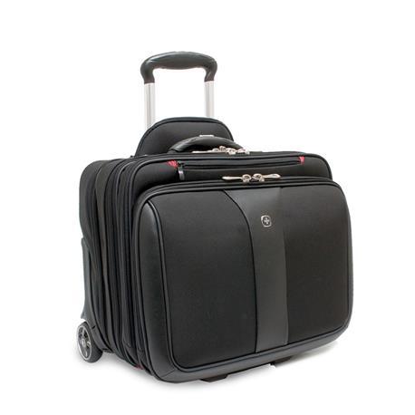 "Torba na laptopa Wenger Patriot 17"" czarno szara-16470"