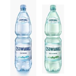 Woda Cisowianka gazowana 0,5l (12 szt.) -3155
