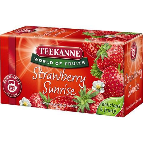 Herbata Teekanne Strawberry Sunrise 20 torebek-17966