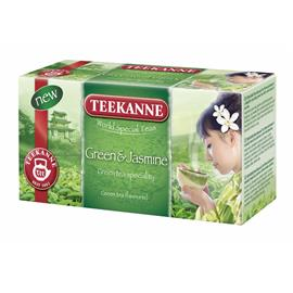 Herbata Teekanne Green Tea Jaśmin ekspresowa 20 t