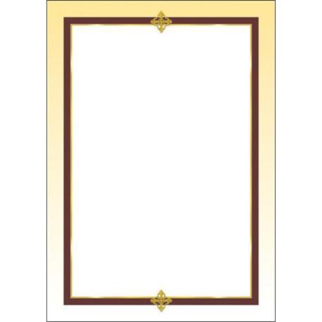 Arkusze barwne A4 Francja 100g (50)-6750