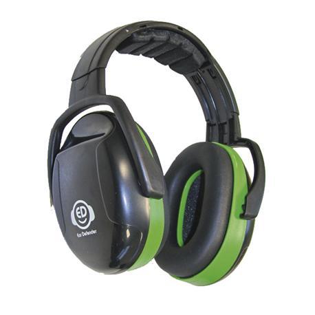 Nauszniki na głowę ED 1H, 26dB, zielone-10402