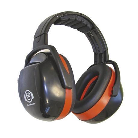 Nauszniki na głowę ED 3H, 33dB, pomarańczowe-10404