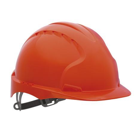Kask ochronny Evo2, czerwony-10406