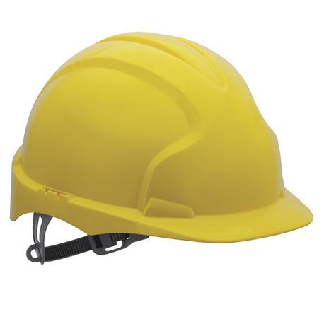 Kask ochronny Evo2, żółty-10407