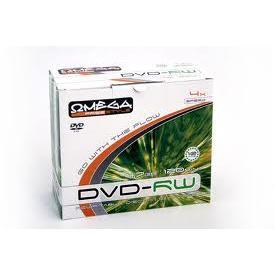 Dysk DVD-RW Omega 4,7GB 4X slim (10)-9494