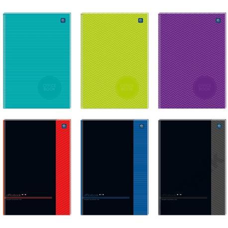 Brulion Interdruk Officebook twardy A4 96k. kratka-15081
